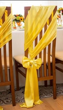 Dekoracija stolica za sve prilike